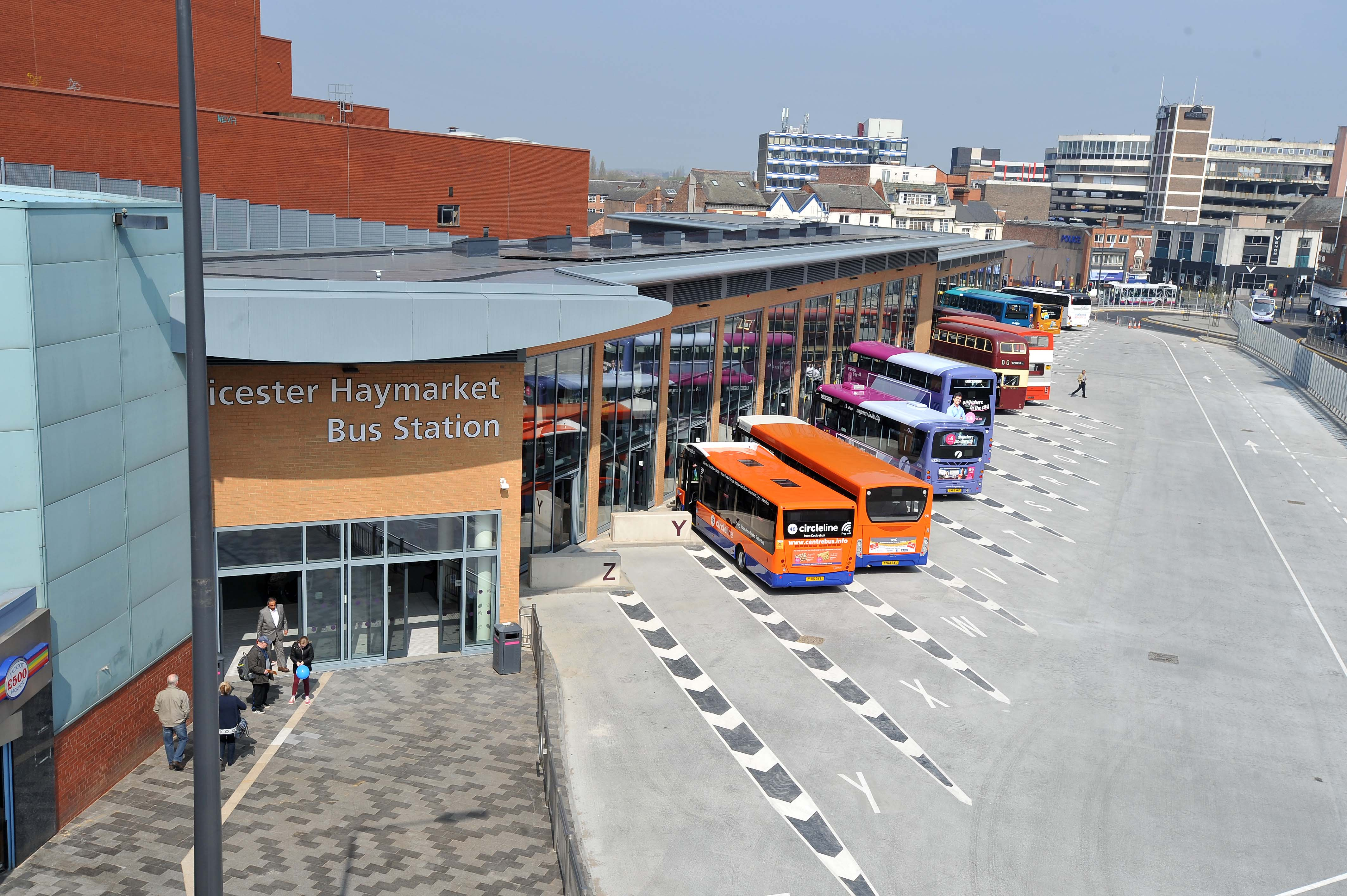 Haymarket Bus Station overview